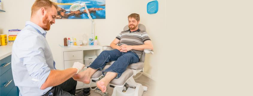 routine podiatry on the gold coast